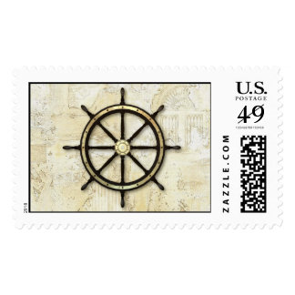 Fathers Day - ADD YOUR PHOTO - Captains Wheel Postage
