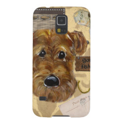Case-Mate Barely There Samsung Galaxy S5 Case with Airedale Terrier Phone Cases design