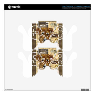 FATHER'S DAY AIREDALE PS3 CONTROLLER SKIN