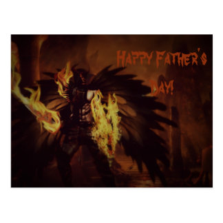 Father's Day Angel Postcards