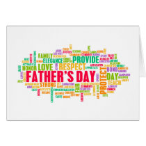 Father's Day As a Special Day with Words Card