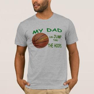 Father's Day Basketball Hoops Tee Shirt