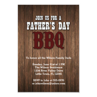 Father's Day BBQ Card