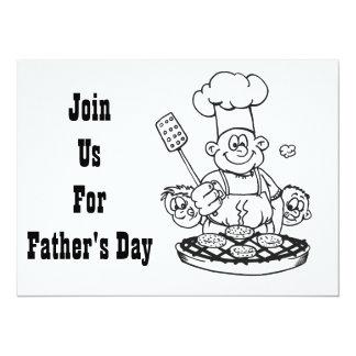 **FATHER'S DAY BBQ** INVITATION