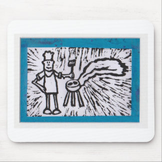 Father's Day BBQ Mouse Pad