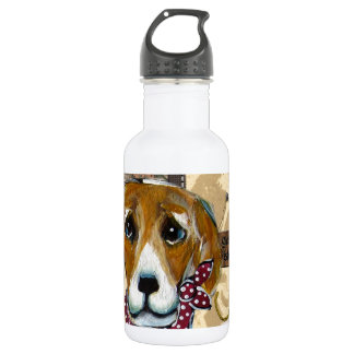 FATHER'S DAY BEAGLE 18OZ WATER BOTTLE