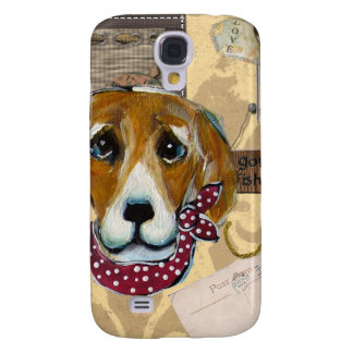 FATHER'S DAY BEAGLE SAMSUNG S4 CASE