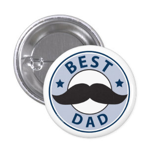 Father's Day Best Dad Button