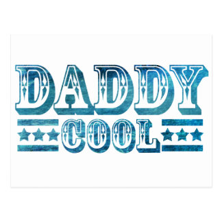 Fathers Day , Best Dad , Cool Dad , Daddy Papa Postcard