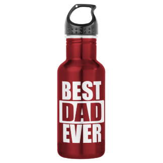 Father's Day: Best Dad Ever Water Bottle