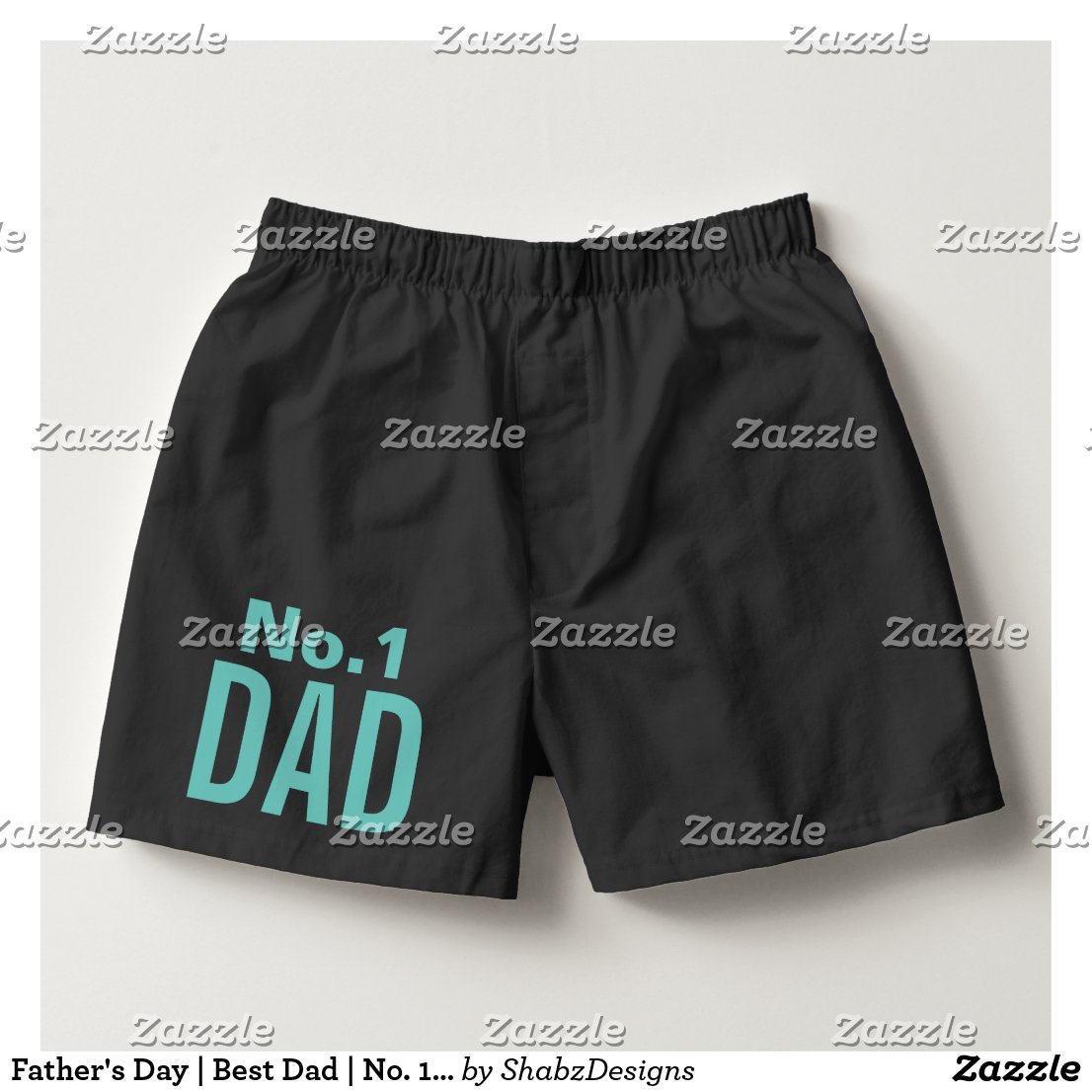 Fathers Day Best Dad No 1 Dad Boxers