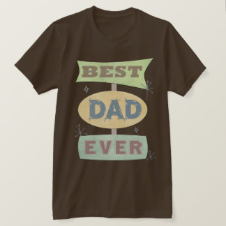 Father's Day Best Dad Retro T-Shirt