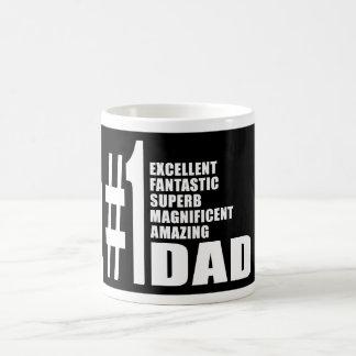Fathers Day Birthdays Christmas Number One Dad Classic White Coffee Mug