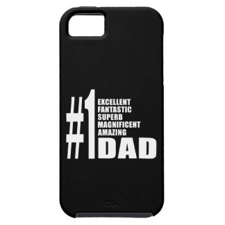 Fathers Day Birthdays Christmas Number One Dad iPhone SE/5/5s Case
