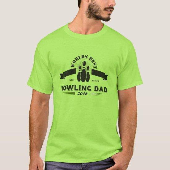 Fathers Day Bowling Shirt