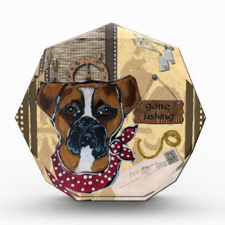 FATHER'S DAY BOXER DOG AWARD