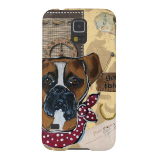 FATHER'S DAY BOXER DOG CASE FOR GALAXY S5