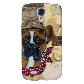 FATHER'S DAY BOXER DOG GALAXY S4 COVER