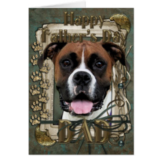 Fathers Day - Boxer - Vindy Card