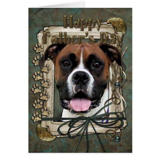 Fathers Day - Boxer - Vindy Cards