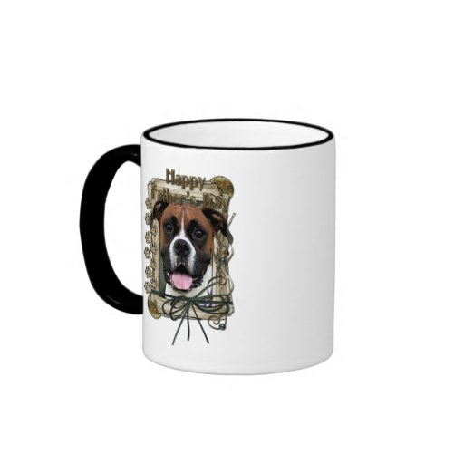 Fathers Day - Boxer - Vindy Ringer Coffee Mug