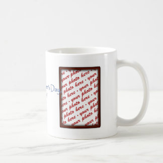 Father's Day Brown Photo Frame Coffee Mug
