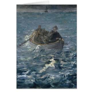 """""""Father's Day"""" Buffeted by the Waves Card"""