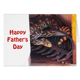 Father's Day - Bull Snake Card
