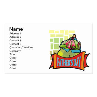 Fathers Day Business Card