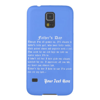 Fathers Day by Martha Valencia view about Design Case For Galaxy S5