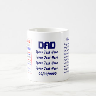 Fathers Day by MV Not JUMBO view about Design Coffee Mug