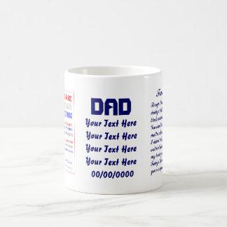 Fathers Day by MV Not JUMBO view about Design Mug
