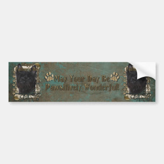 Fathers Day - Cairn Terrier - Rosco Bumper Sticker
