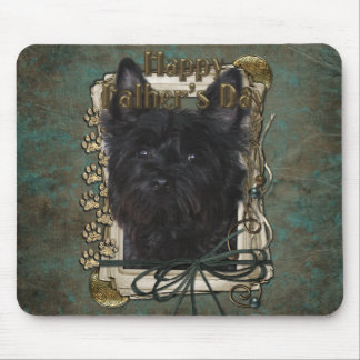 Fathers Day - Cairn Terrier - Rosco Mouse Pad