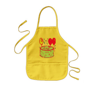 FATHER'S DAY CAKE APRONS