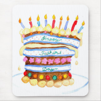 Father's Day Cake Mousepad
