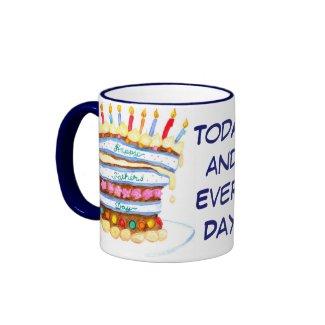 Father's Day Cake Mug mug