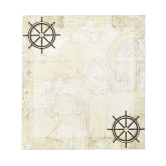 Fathers Day - Captains Wheel Memo Note Pads