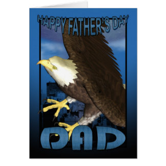 Father's Day Card American Bald Eagle