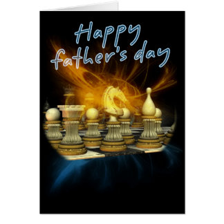 Father's Day Card - Chess