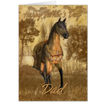 Father's Day Card Equine, Horse