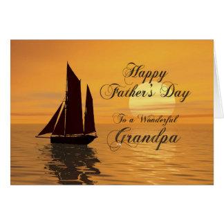 Father's day card for grandpa