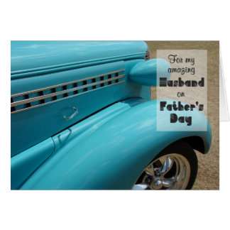Father's Day Card for Husband - Hot Rod Humor
