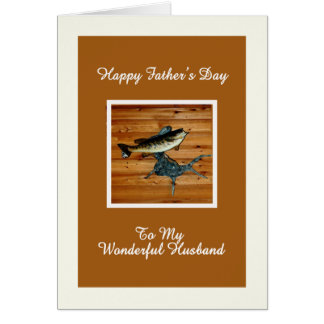 Father's Day Card for Husband Small Mouth Bass