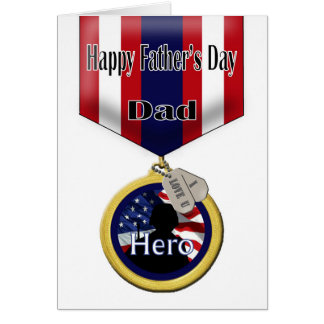 Father's Day Card for Military Dad