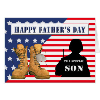 Father's Day Card for Military Son