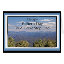 Father's Day Card For Step Dad
