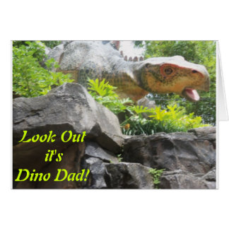 Father's Day Card - For the Prehistoric Dad!