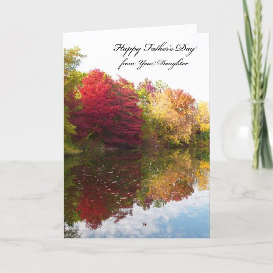 fathers day card from daughter zazzle com
