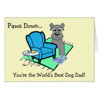 Father's Day Card From Dog